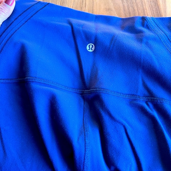 Lululemon workout leggings these are 7/8 length
